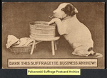 [181a] Darn this suffragette business anyhow! [front] by Publisher unknown