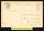 "[189b] The ""Suffragette."" Down with the Tom cats. [back] by Illustrated Postal Card Co."