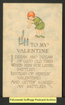 [213a] To My Valentine [front] by J. Raymond Howe Company
