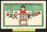 [283a] It's the Little things that count [front] by Souvenir Post Card Company