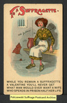 [312a] To a Suffragette [front] by Millar & Lang, Ltd.