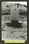 [343a] Esther Morris Monument [front] by Publisher unknown