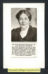 [348a] The Late Miss Sylvia Pankhurst [front] by Publisher unknown