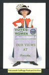 [369a] Votes for Women - Our Views at Gloucester. [front] by The Photochrom Company
