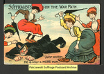 [398a] Suffragists on the War Path [front] by Millar & Lang, Ltd.