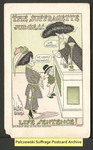 [171.1a] The suffragette judgess. Life sentence! [front] by Walter Wellman