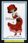 [122.1a] Suffragette series no.12: I love my husband, but (version 2) [front] by Dunston-Weiler Lithograph Company