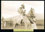 [427] Suffrage-related photo - woman on horseback by Photographer unknown