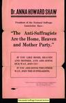 [430] Women's Anti-Suffrage Association of Massachusetts flyer by Women's Anti-Suffrage Association of Massachusetts