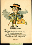 [433] Suffragette - You blow because you now can vote by Publisher unknown
