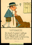 [435] Suffragette - You boast of women's suffrage by Publisher unknown