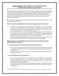 Know Your Rights fact sheet