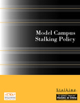 Model Campus Stalking Policy