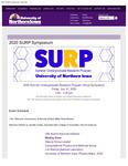 2020 Summer Undergraduate Research Program Virtual Symposium