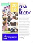 [Social Work] Newsletter, 2016 by University of Northern Iowa. Department of Social Work.