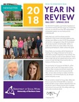 [Social Work] Newsletter, 2018 by University of Northern Iowa. Department of Social Work.