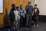 Arts to End Violence Musicians Perform at the Movie Premier