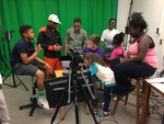 WWP visits the Digital Media Hub Green Screen Room at Rod Library by Angela Waseskuk