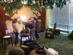 "UNI 3D Students Film ""Life in Color"" at Rod Library by Angela Waseskuk"