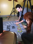 """UNI 3D Students Film """"Life in Color"""" in the Youth Library at Rod"""