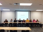 """3D Concepts Student Panel Presents """"Moving Words"""" to the UNI Community in ScholarSpace at Rod Library"""