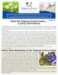 Tallgrass Prairie Center Newsletter, Spring 2007 by Tallgrass Prairie Center.