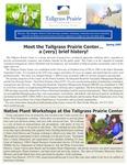 Tallgrass Prairie Center Newsletter, Spring 2007