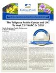 Tallgrass Prairie Center Newsletter, Fall 2008