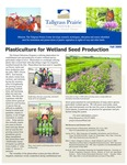 Tallgrass Prairie Center Newsletter, Fall 2009