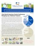Tallgrass Prairie Center Newsletter, Fall 2010
