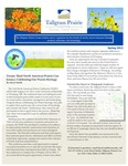 Tallgrass Prairie Center Newsletter, Spring 2012