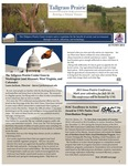 Tallgrass Prairie Center Newletter, Autumn 2014