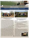 Tallgrass Prairie Center Newsletter, Fall 2015