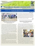 Tallgrass Prairie Center Newsletter, Spring 2016