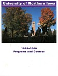 Programs and Courses 1998-2000 by University of Northern Iowa