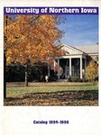 University Catalog 1994-1996 by University of Northern Iowa