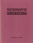 University Catalog 1986-1988 by University of Northern Iowa