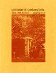 University Catalog 1984-1986 by University of Northern Iowa