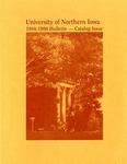 University Catalog 1984-1986