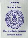 The Graduate Program 1977-1979