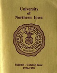 University Catalog 1976-1978 by University of Northern Iowa