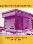 University Catalog 1974-1976 by University of Northern Iowa