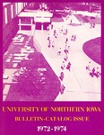 University Catalog 1972-1974 by University of Northern Iowa