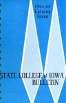 College Catalog 1964-1966 by State College of Iowa