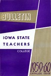 College Catalog 1959-1960 by Iowa State Teachers College