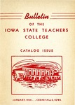 College Catalog 1951-1952 by University of Northern Iowa