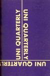 1972 UNI Quarterly, v3n2 [winter 1972]