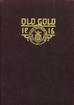 1916 Old Gold by Iowa Sate Teachers College
