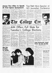 Tom Pettit main speaker at SCI Journalism Conference, The College Eye, March 13, 1964