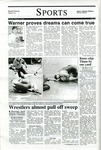 Warner proves dreams can come true, The Northern Iowan, February 1, 2000